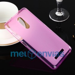 Funda carcasa para Xiaomi Redmi Note 3 Gel TPU Liso mate Color Rosa