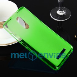 Funda carcasa para Xiaomi Redmi Note 3 Gel TPU Liso mate Color Verde
