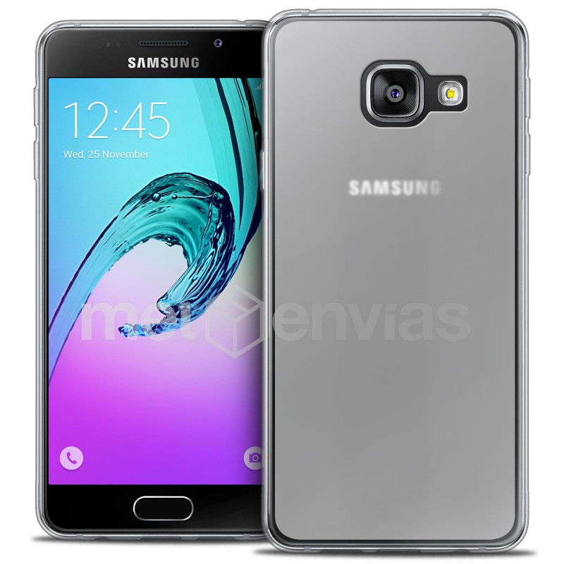 9eefd5246d5 Funda carcasa para Samsung Galaxy A5 A510 (2016) Gel TPU Liso mate Color  Transparente. Loading zoom
