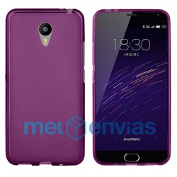 Funda carcasa para Meizu M2 Note Gel TPU Liso mate Color Rosa
