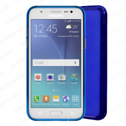 Funda carcasa para Samsung Galaxy J5 (2016) Gel TPU Liso mate Color Azul