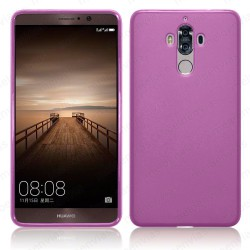 Funda carcasa para Huawei Mate 9 Gel TPU Liso mate Color Rosa