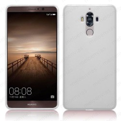 Funda carcasa para Huawei Mate 9 Gel TPU Liso mate Color Transparente