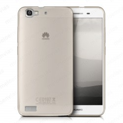 Funda carcasa para Huawei P8 Lite Smart Gel TPU Liso mate Color Transparente