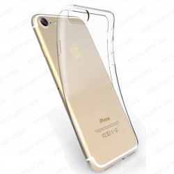Funda carcasa para iPhone 7 Gel TPU Liso Transparente 100%