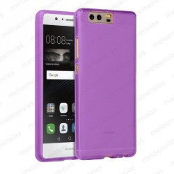 Funda carcasa para Huawei P10 Plus Gel TPU Liso mate Color Morado