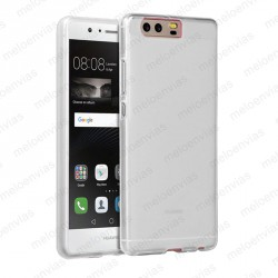 Funda carcasa para Huawei P10 Plus Gel TPU Liso mate Color Transparente