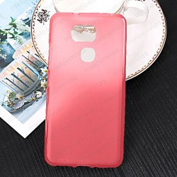 Funda para BQ Aquaris V Plus carcasa Gel TPU Liso mate Color Rosa