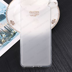 Funda para BQ Aquaris V Plus carcasa Gel TPU Liso mate Color Transparente