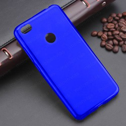 Funda para Xiaomi Redmi Note 5A carcasa Gel TPU Liso mate Color Azul