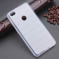 Funda para Xiaomi Redmi Note 5A carcasa Gel TPU Liso mate Color Transparente