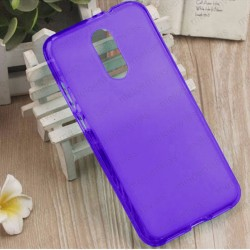 Funda para Xiaomi Redmi 5 Plus carcasa Gel TPU Liso mate Color Azul