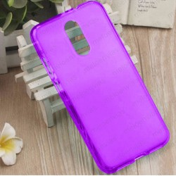 Funda para Xiaomi Redmi 5 Plus carcasa Gel TPU Liso mate Color Morado