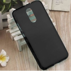Funda para Xiaomi Redmi 5 Plus carcasa Gel TPU Liso mate Color Negro