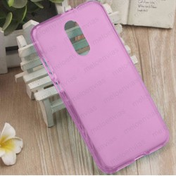 Funda para Xiaomi Redmi 5 Plus carcasa Gel TPU Liso mate Color Rosa