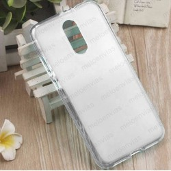 Funda para Xiaomi Redmi 5 Plus carcasa Gel TPU Liso mate Color Transparente