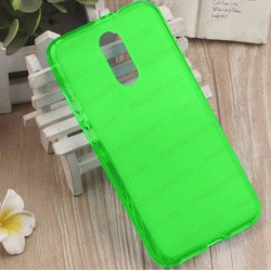 Funda para Xiaomi Redmi 5 Plus carcasa Gel TPU Liso mate Color Verde