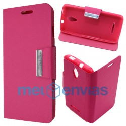 Smart 4 Turbo Flip cover soporte Fucsia