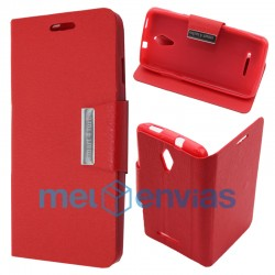 Smart 4 Turbo Flip cover soporte Rojo